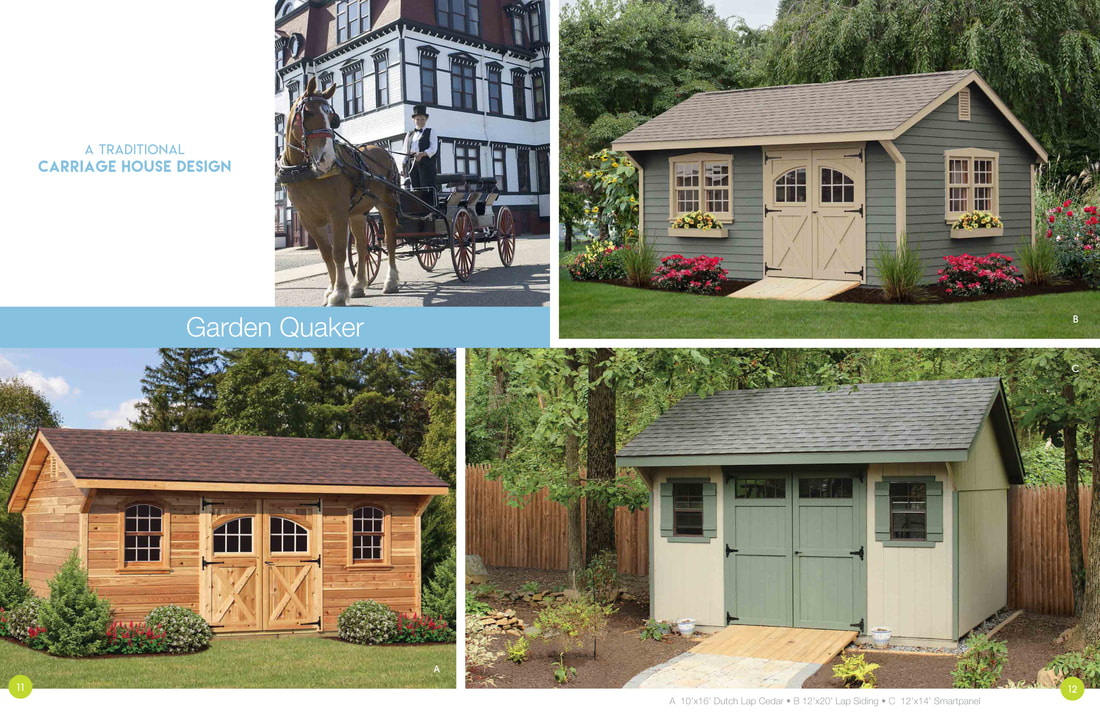 Our Storage Shed Garage Product Line Brochure On Delmarva